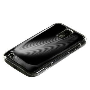 Black Acrylic Metal Aluminum Hard Case Cover Samsung Galaxy S2 T989 T Mobile