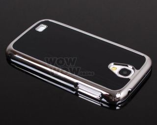Luxury Brushed Aluminum Metal Chrome Hard Case for Samsung Galaxy S4 I9500