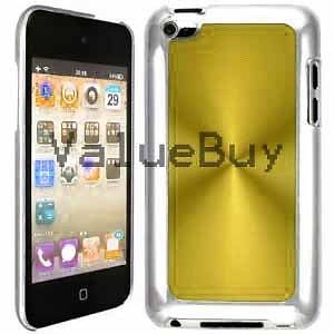 Yellow Gold Apple iPod Touch 4th Generation Aluminum Plated Hard Case Cover 4G