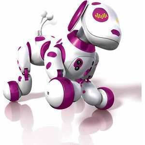 Zoomer Zoomie Robot Dog Hot Toy Robot Dog Pink Dalmation Christmas Gift