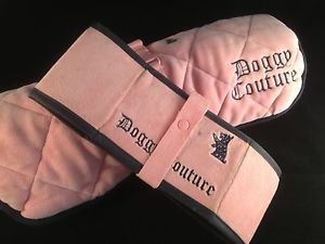 Juicy Couture Portable Dog Pet Bed Collapsible Water Food Bowl Doggy Couture