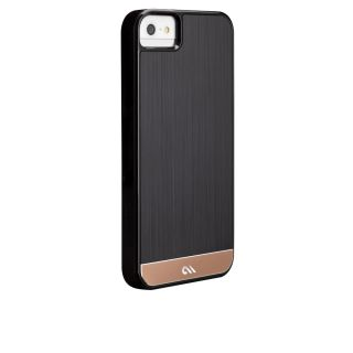 Case Mate iPhone 5 Brushed Aluminum Cases Black Rosegold
