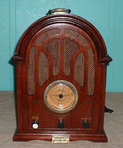 Radio Tape Player Replica Thomas Collectors Edition Radio Collectors Wood Am FM