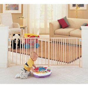 Supergate Walk thru Hinged Baby Child Pet Safety Swing Gate Door Secure Steel