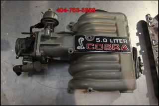93 Ford Mustang SVT Cobra Intake Manifold 5 0 Engine 92 91 90 89 88 87 86 GT40