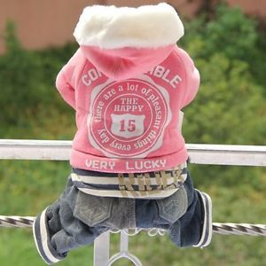 Autumn Winter Lucky Sports Dog Clothing Wear Coats Dog Jacket Sweater Clothes