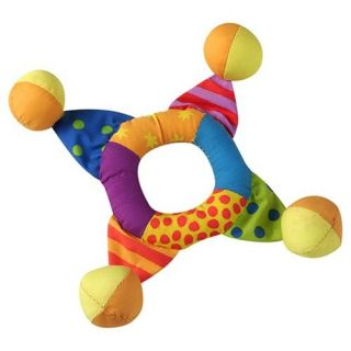 Mini Toss Ring Soft Indoor Outdoor Rattlespetstages Frisbee Small Dog Puppy Toy