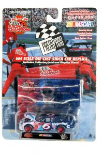 Racing Champion Press Pass Mark Martin 6 Ford Taurus Valvoline