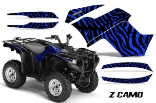 Yamaha Grizzly 700 550 Graphics Kit Creatorx Decals Stickers ZCBL