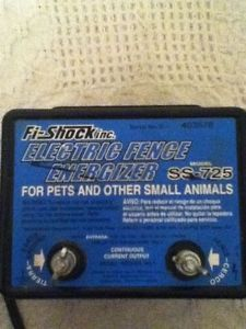 Electric Fence Energizer for Pet Fences