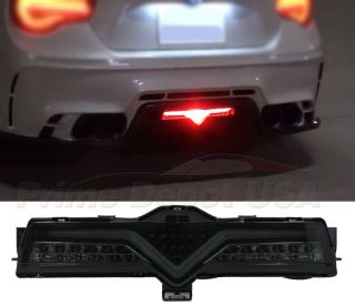 Valenti LED Reverse Light Smoke Chrome Brake Lamp Scion FRS Subaru BRZ ft GT 86