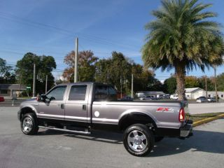 F350 Crew Cab LWB 8ft Bed Lariat 4WD SRW 6 0 Powerstroke Turbo Diesel Florida