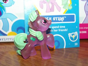 My Little Pony Friendship Magic Blind Bag Crystal Shine Apple Stars 20
