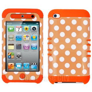 iPhone 4 Polka Dot Case Hybrid