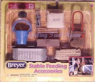 Breyer Horse 2013 Classic Stable Feeding Accessories 61075 NIP