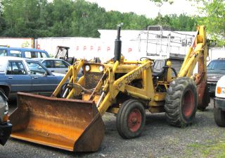 1970 Case 580 Backhoe Loader
