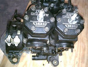1995 Arctic Cat 580 EFI Engine Motor 1996 ZR Ext Deluxe Used 97 98