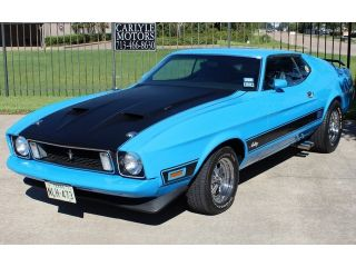 1973 Ford Mustang Mach 1 Automatic 2 Door Coupe