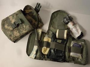 New USGI ACU Digital Camo Improved First Aid Kit IFAK with Supplies