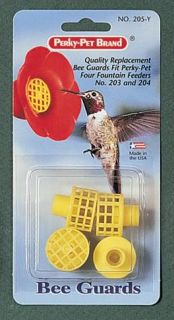 Bee Birdfeeder Guards for Perky Pet Hummingbird Bird Feeders