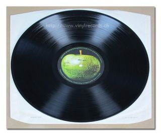 "Beatles Abbey Road Original UK Misaligned Apple PC 7088 NM M 12"" Vinyl"