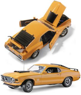 Franklin Mint 1970 Ford Mustang Boss 429 Diecast 1 24 B11E846