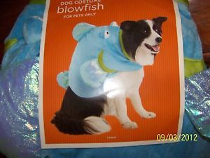 Halloween Dog Costume Blow Fish Outfit Large L LG Animal Pet Dress Up Clothes NE