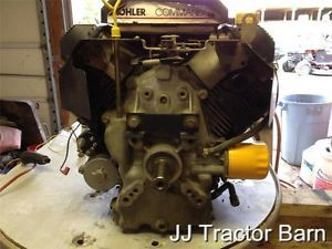 Cub Cadet 2185 Kohler Command Horizontal 18 HP Engine CH18S See Running Video