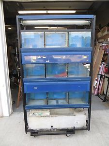 Commercial Fish Tanks and Stand Marineland Built Used  w Filter Unit 1