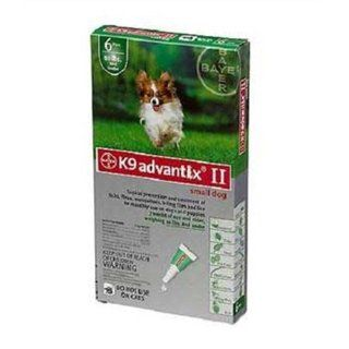 Advantix II Flea and Tick Treatment Pet Care for Dogs 10 19 lbs 6 Month Supply