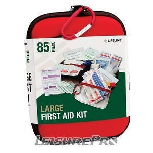 Lifeline Large Hard Shell Foam First Aid Kit 85 Piece