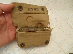 WW1 U s Army First Aid Kit Dated 1916 WW1 First Aid Kit