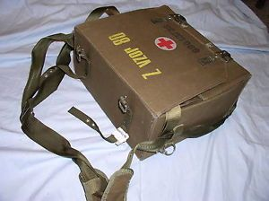 Combat Medic First Aid Kit Bag Box Czech Army IFAK Prepper Survivalist Medical