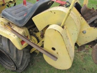 International Harvester IH Extremely RARE Cub Cadet Vermeer Trencher Tractor
