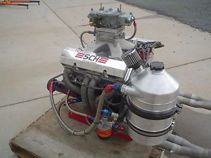 Chevy Drag Racing Engine