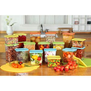 Hyundai Hmall Sunrise Food Containers Block Refrigerator Storage 18 Pcs 18 Free
