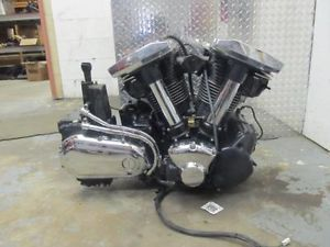 2001 Yamaha XV1600 XV 1600 Road Star Engine Motor 40 594 Miles