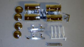 Model Kit Lot Big Rig Semi Truck 1 25 Replacement Parts Kenworth COE Tanks 003