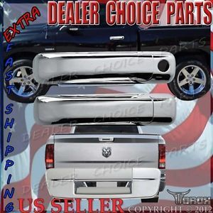 Dodge RAM Black Door Handles