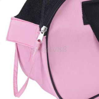 Pink Pet Carrier Dog Cat Tote Bag