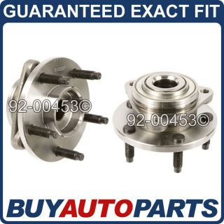 Pair Brand New Front Wheel Hub and Bearing Assembly for Chevy HHR
