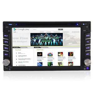 "Android 4 0 Double DIN Car Stereo DVD GPS Radio Autoaudio 6 2""Head Unit DVBT TV"