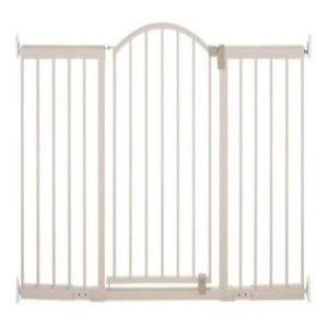 Summer Infant 6 Foot Walk thru Baby Pet Safety Secure Extra Wide Gate Door
