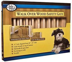 Expandable Wooden Pet Gate