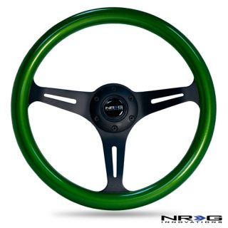 350mm Black Steering Wheel