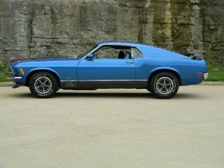 1970 Ford Mustang Mach 1 351 4 Speed