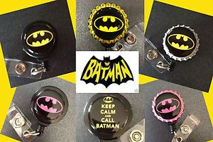 Batman ID Badge Holder with Retractable Reel Name Badge Holder 6 Options