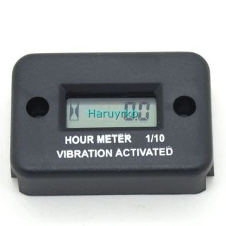 Vibration Hour Meter for Motorcycle Car Dirt Bike Boat 2 4 Stroke Gas Engine