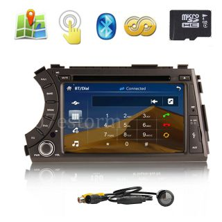 "7"" Car GPS DVD Player Navigation for Ssangyong Kyron 2005 2012 Free GPS Maps"