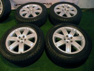 "19"" Range Rover Land HSE Factory P38 Discovery II Disco Wheels Tires Silver"